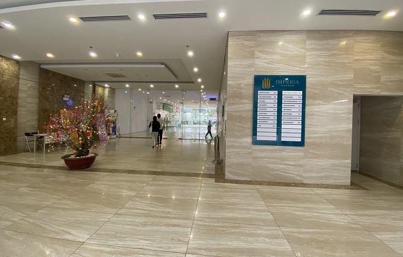 Sàn văn phòng và Shop cao cấp Imperia Garden 203 Nguyễn Huy Tưởng
