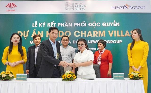 Newstargroup phân phối độc quyền dự án Hado Charm Villas