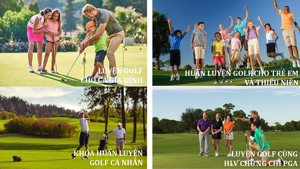 huấn luyện golf