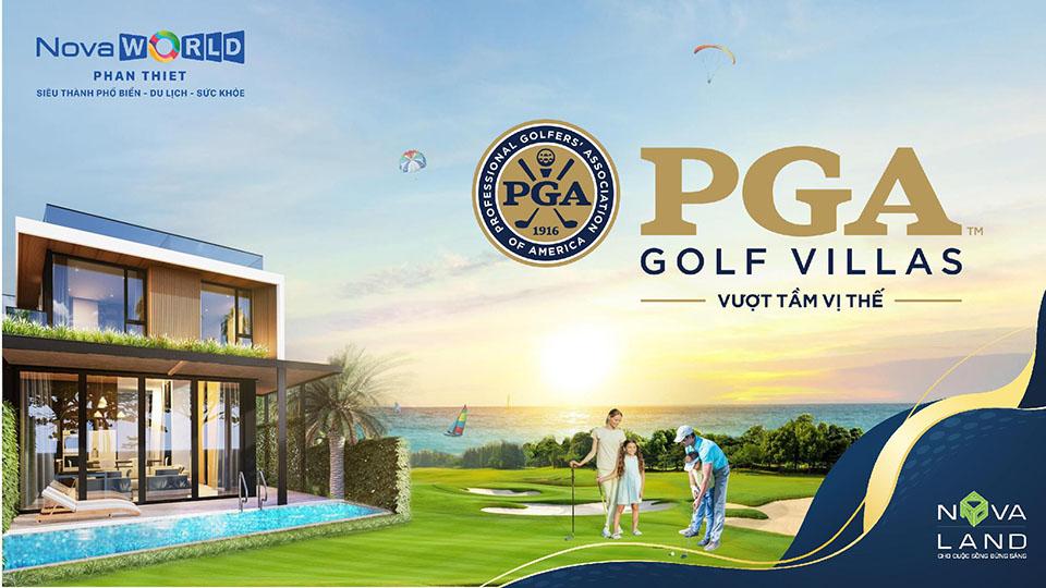 phân khu pga golf villas