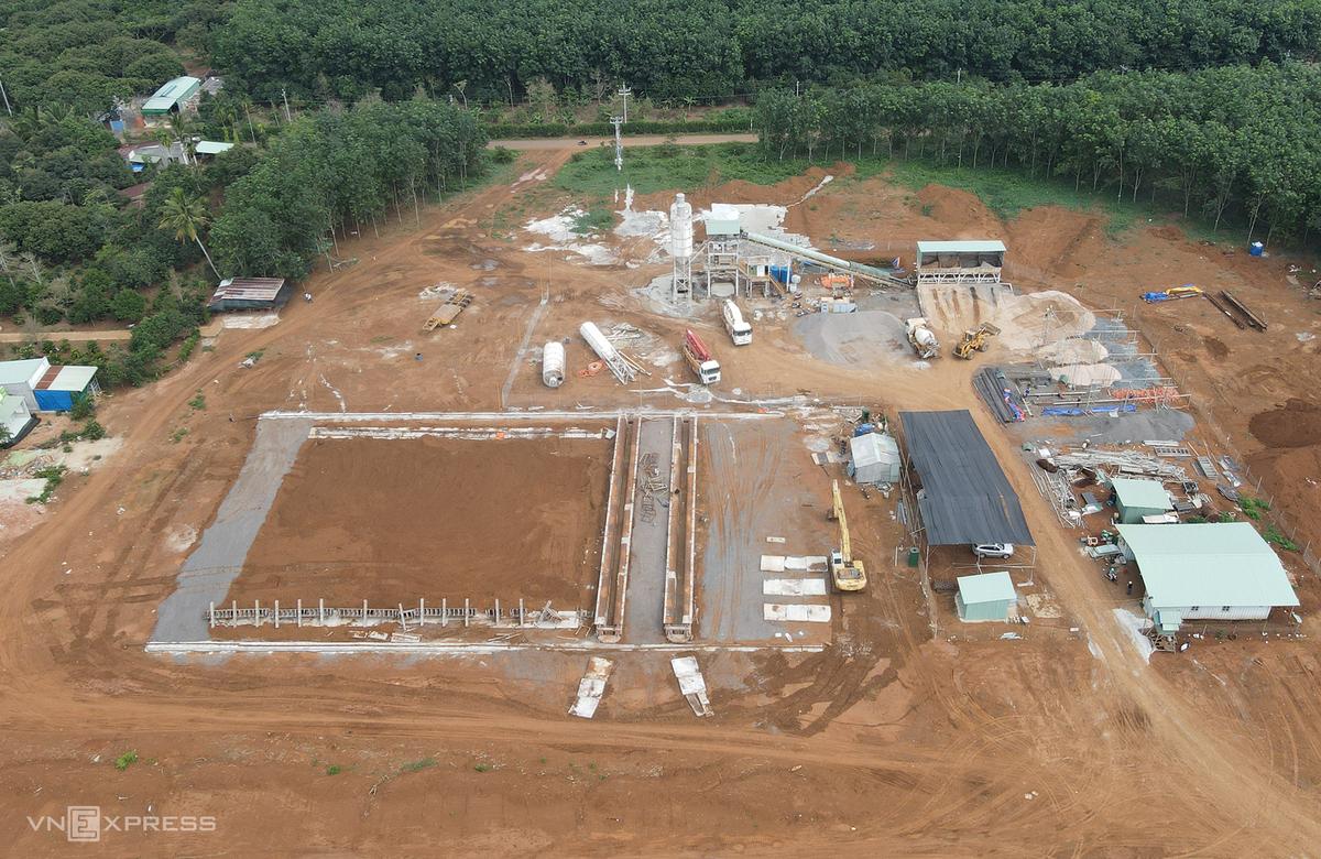 xây dựng cao tốc dầu dây phan thiết