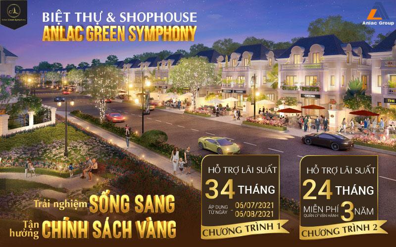 An Lạc Green Symphony hỗ trợ lãi suất 0% lên tới 34 tháng