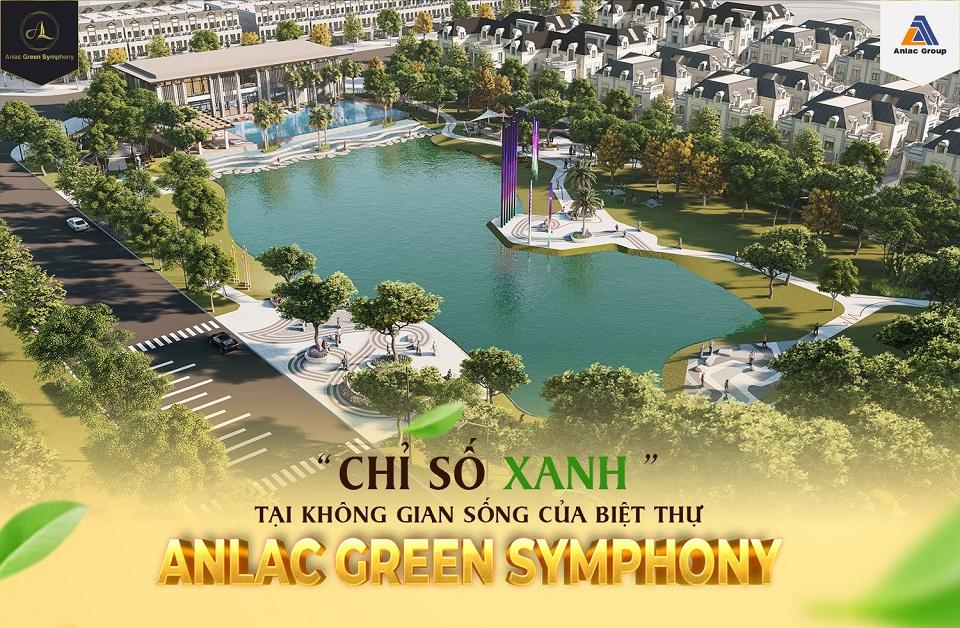 """""""Chỉ số xanh"""" tại không gian sống của biệt thự An Lạc Green Symphony"""