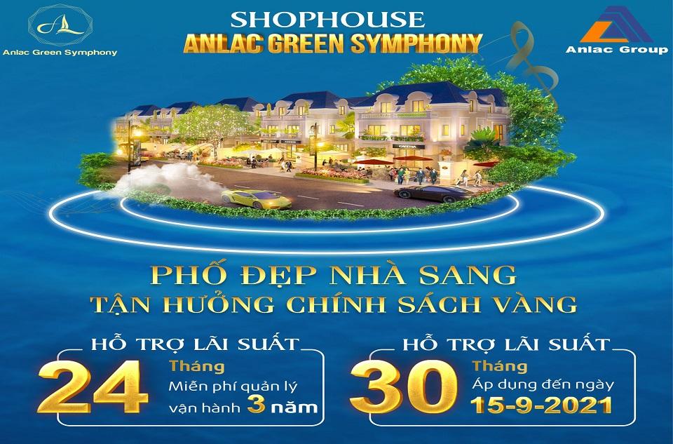 Shophouse An Lạc Green Symphony – phố đẹp nhà sang, tận hưởng chính sách vàng